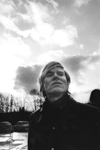 the artist andy warhol (2 works) by digne meller-marcovicz