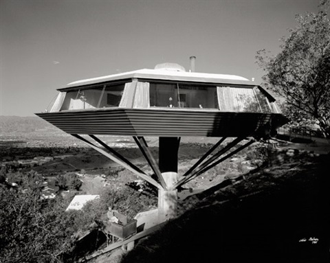 malin residence chemosphere house designed by john lautner los angeles california by julius shulman