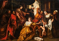 das urteil des salomon by sir peter paul rubens