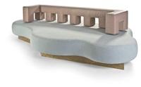 sofa cibic by aldo cibic