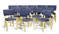 stühlen (modell 62) (set of 12) by alvar aalto and maija heikinheimo