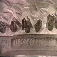 eggplants by nancy mitchnick