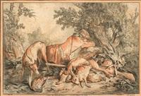 le repo du chasseur by gilles-antoine demarteau
