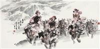 踏雪 by cui junheng
