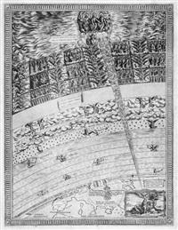 himmelskarte mit der offenbarung des hl. johannes by nicolaus van aelst