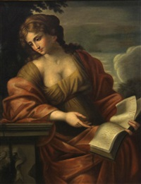 the cumaean sibyl by giovanni francesco romanelli