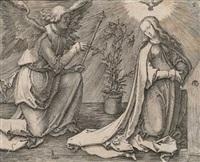 joachim und anna unter der goldenen pforte by lucas van leyden