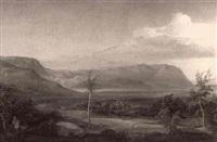 mountainous landscape by eduard metzger