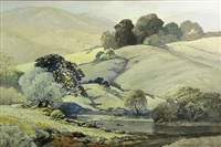 california hills by albert f. jacobson