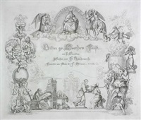 bilder zu goethes faust (set of 12 by ferdinand ruschewey) by peter von cornelius