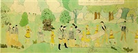 at aronburgs run, glorinia