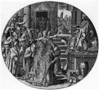 die allegorie des geizes by leonard thiry