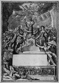 allegorie der hochzeit von prinz wilhelm iii. von england und prinzessin maria von york by romeyn de hooghe