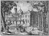 ansichten des schlosses het loo (portfolio w/13 of 14 works) by romeyn de hooghe