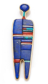 pendant by charles loloma