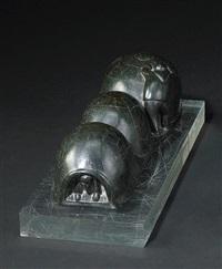 three-chambered igloo by samson nastapoka