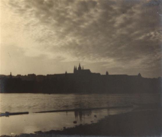 panorama of prague by josef sudek