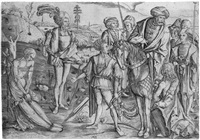 das schießen auf den toten vater (das martyrium des hl. sebastian) by matthaus zasinger