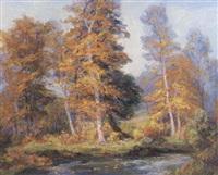forest landscape by frances keffer