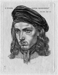 bildnis des malers carl philipp fohr by samuel amsler