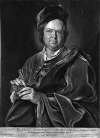 porträt des juweliers johann melchior dinglinger (+ maria sibilla j.m. dinglinger; pair, after kupetzky) by bernhard vogel