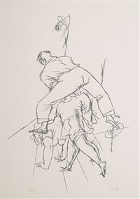 grotesker tanz by george grosz