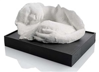 sleeping woman by george segal