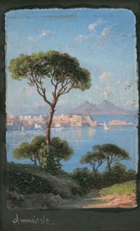 neapel und umgebung (4 works) by domenico ammirato