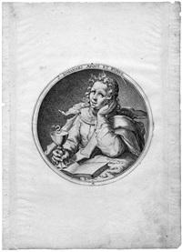 christus, die apostel und der hl. paulus (14 works engraved by dolendo zacharias) by jacques de gheyn ii