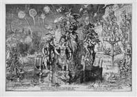 die friedensverhandlungen zwischen england und den niederlanden in den haag von - vreede handel tusschen engelandt en ons (4 works of 9) by romeyn de hooghe