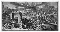 allegorie auf das lasterhafte und tugendhafte leben by romeyn de hooghe