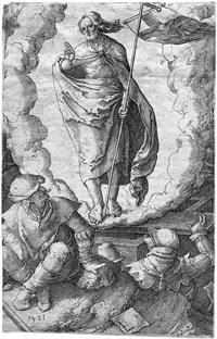 die auferstehung by lucas van leyden