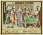 virtuous women (set of 8) (engraved by z. dolendo) by jacques de gheyn ii