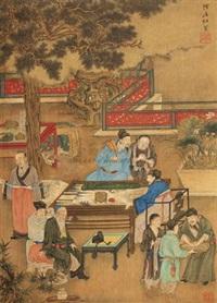 雅集图 by du jin