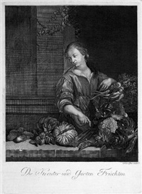 der kräuter und garten früchten by franz asner