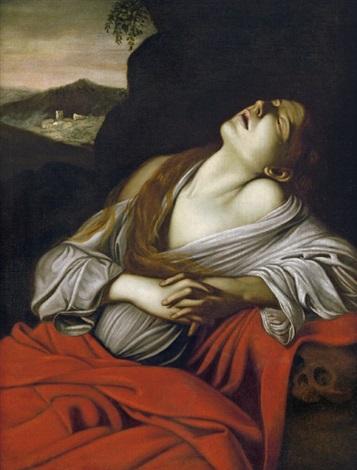 die hl maria magdalena in ekstase by michelangelo merisi da caravaggio