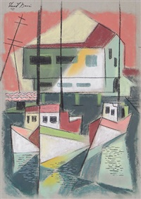 harbor house by stuart davis