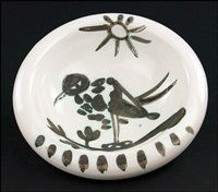 bird under the sun by pablo picasso