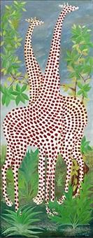 two giraffes by jasmin joseph