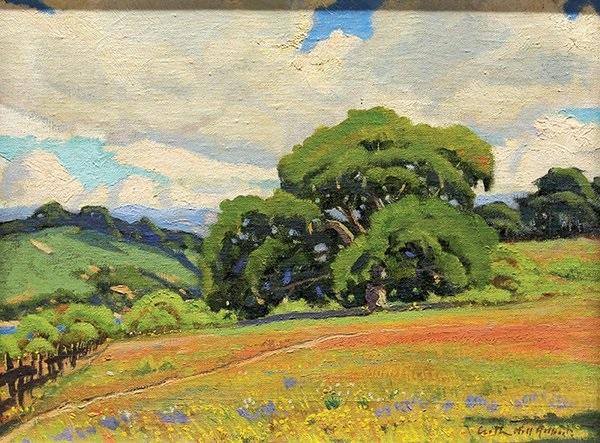 spring flowers by arthur hill gilbert