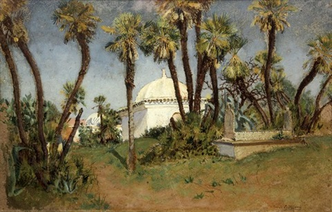 bonzarea algeria by louis comfort tiffany