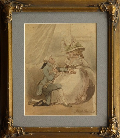 the proposal by thomas rowlandson