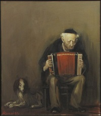 accordion player by alexandr kachkin
