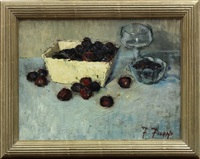 bing cherries by fortunato v. figone