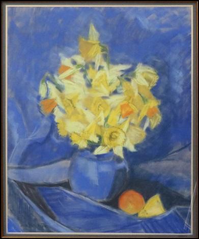 daffodil arrangement by jane peterson