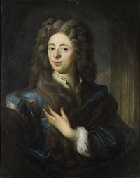 portrait of a gentleman thought to be nicolas ghys by pierre gobert