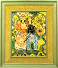 young lovers i (+ young lovers ii; 2 works) by sadegh tabrizi