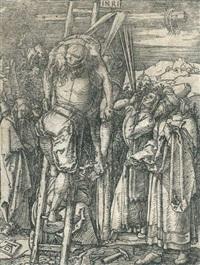 die kreuzabnahme by albrecht dürer