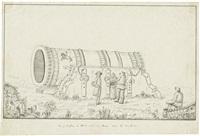 die große kanone im kreml zu moskau by francesco camporesi