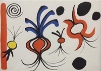 onions and spheres by alexander calder